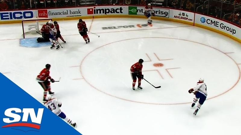 Точный бросок Ши Уэбера в игре с Чикаго