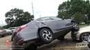 6-6-2019 Baton Rouge, La Tornado damage, flipped cars at hospital Livingston, La homes damaged drone
