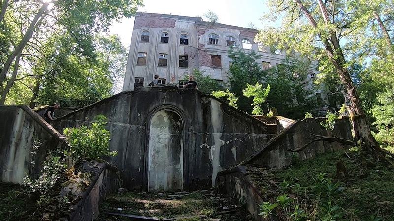 заброшенный город Акамара . Абхазия