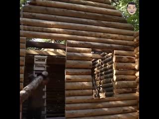 Дом, построенный в одиночку