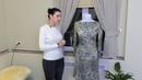 Платье с горловиной лодочка из ангоры Обзор