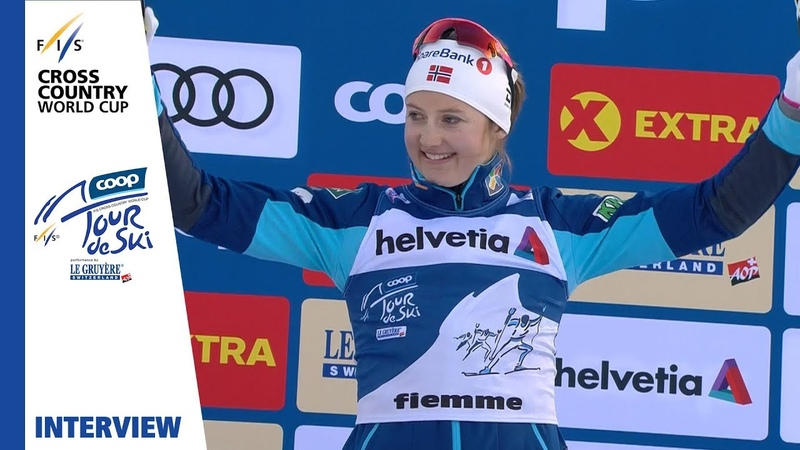 Ingvild F Østberg Today's race was important Val di Fiemme Ladies' MST FIS Cross Country