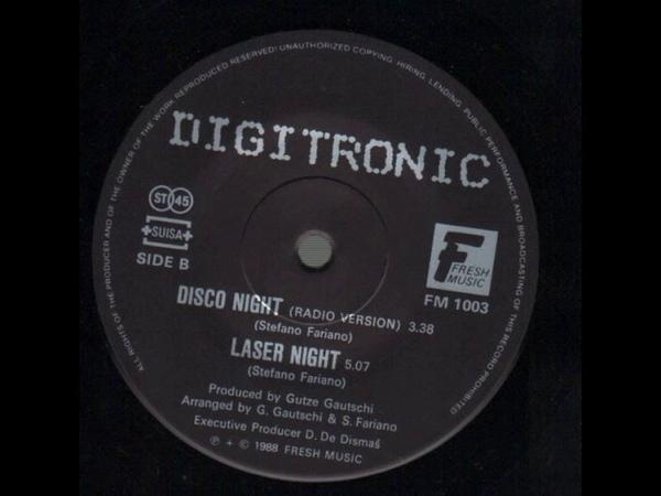 Digitronic Laser Night 1988