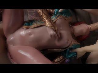The Witcher 3 Triss 3D porn sound