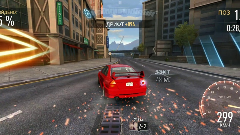 Need for Speed No Limits - Mitsubishi Lancer Evolution VI Event -Final race