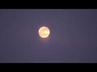 Керченский пролив..Кровавая луна.Лунная дорожка.Судоходство.