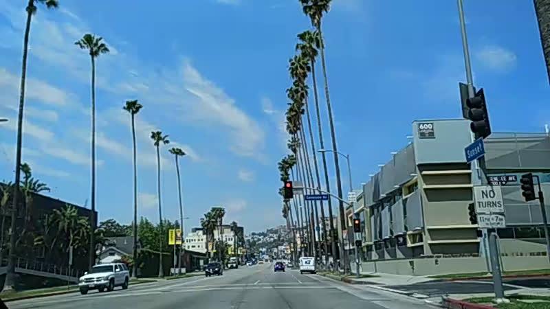 Заезд на мою дачу на Голливудском Холме