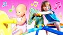 Chanson pour enfants Balance toi Bianca à l'aire de jeux