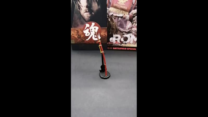 Обзор Том Круз - Самурай от Pop Toys и Генерал Максимус формата 16 от студий HaoYu Toys и HH Model.