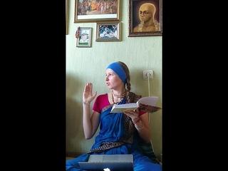 Гаура Катхамрита. Шестая встреча. Киртан Гауранги в Пури, 4 часть. Признаки экстаза.  Ананда Кирти д.д.