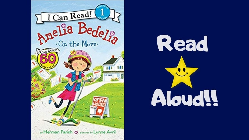 STORYTIME-Amelia Bedelia- On the Move- READ ALOUD Books For Children!