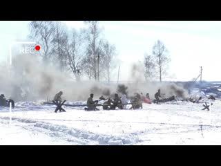 V Всероссийский военно-исторический фестиваль Бессмертный подвиг прошел в Ульяновской области 29 февраля.
