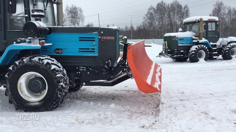 Трактор ХТЗ 150 с бульдозерным отвалом