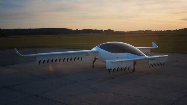 Lilium Jet - flight footage