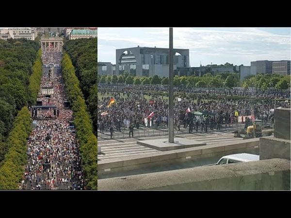 Tag der Freiheit Demonstration in Berlin und die Rolle der Medien