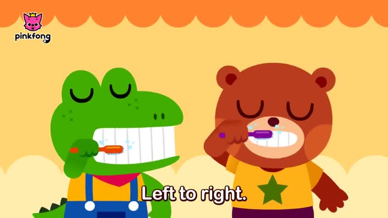 Brush Your Teeth - Tooth Brush Song - Healthy Habits - Pinkfong Songs for Children