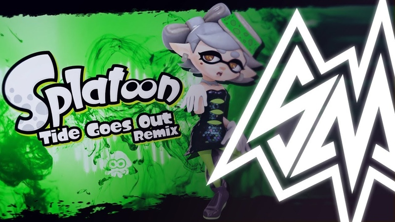 GUMI SayMaxWell Splatoon Tide Goes Out Remix