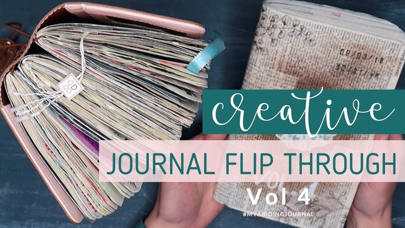 Traveler's Notebook Creative Journal Flip Through Volume 4