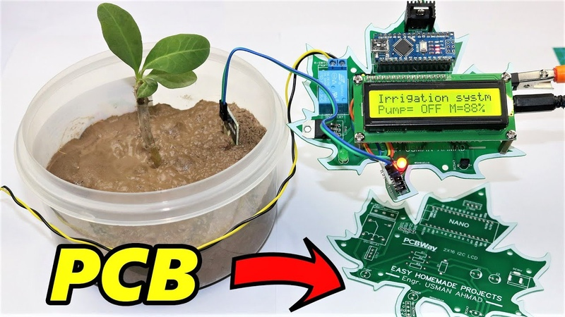 How to Make Automatic Plant irrigation System using Arduino at Home With Code