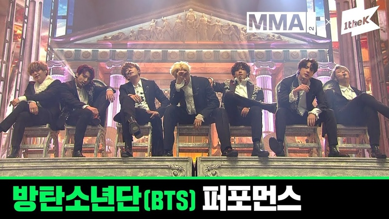MMA 2019 방탄소년단 BTS Full Live Performance