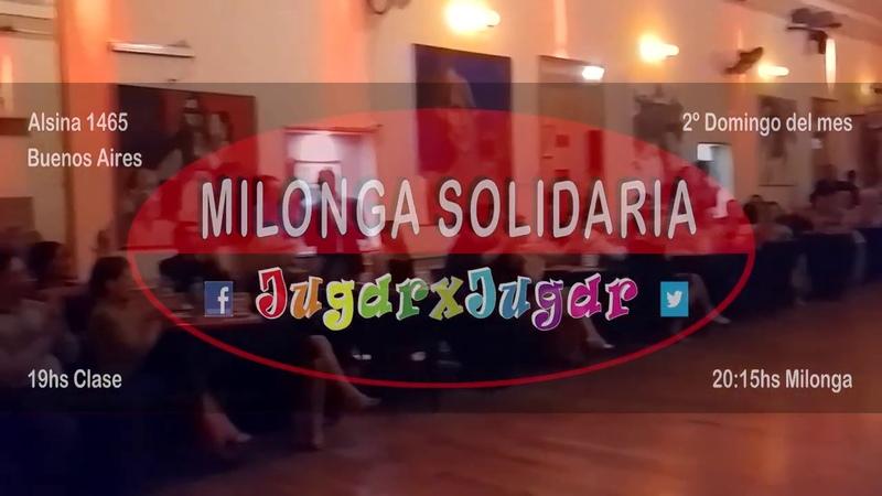 Laura Collavini Gustavo Negrotto T3 Milonga Solidaria JugarxJugar