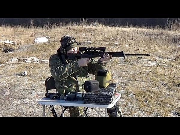 ВПО-221 Ланкастер,стрельба с упора дистанция 100м.