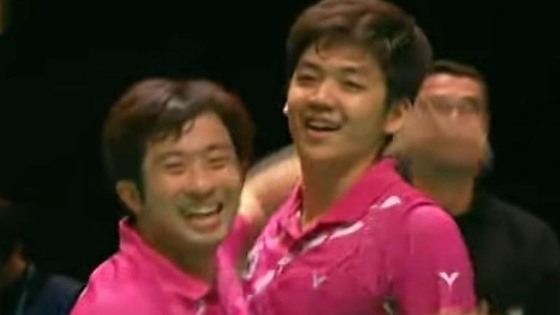 Cai Y Fu H v Jung J S Lee Y D MD F Yonex All England Open Badminton Champ 2012