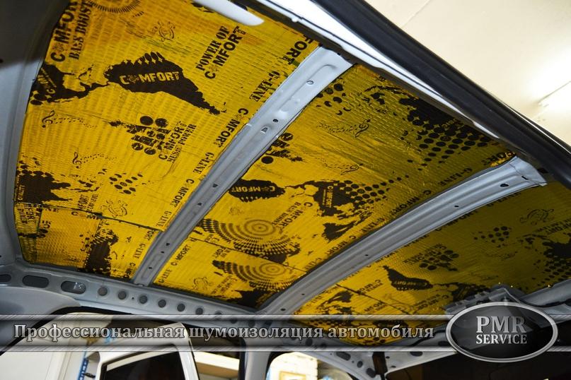 Шумоизоляция Lada Granta, изображение №2