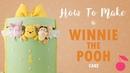 Winnie The Pooh Present Cake Tutorial How To Cherry School
