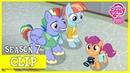 Scootaloo Meets Rainbow Dashs Parents Parental Glideance MLP FiM HD