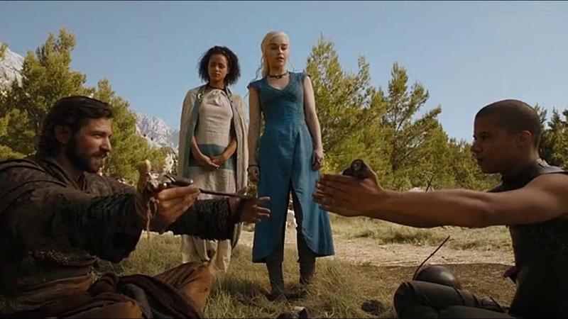 Тот кто дольше продержит меч может искать другую королеву