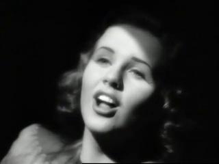 Дина Дурбин поёт русские романсы 1943 г