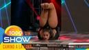 ¡Increíble acto de contorsionismo en Todo un show!
