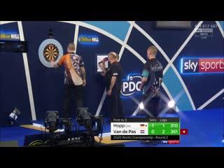 Max Hopp vs Benito van de Pas (PDC World Darts Championship 2020 / Round 2)