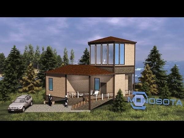 Многомир - конструктор модульной сборки шестигранных домов Моносот