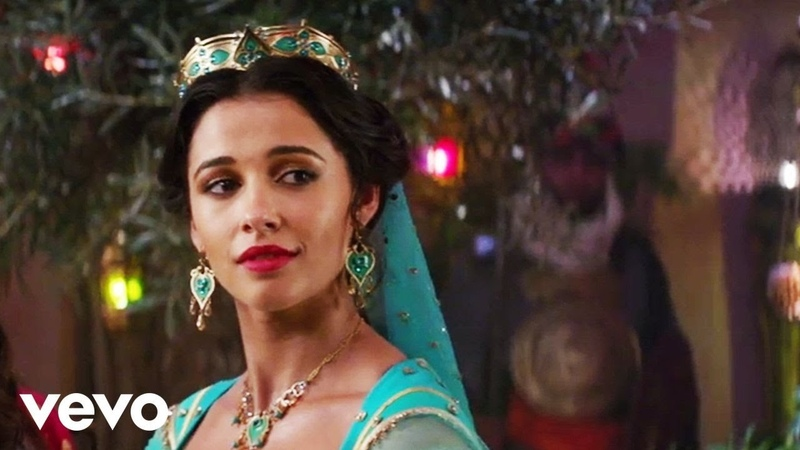 Naomi Scott Speechless from Aladdin Official Video