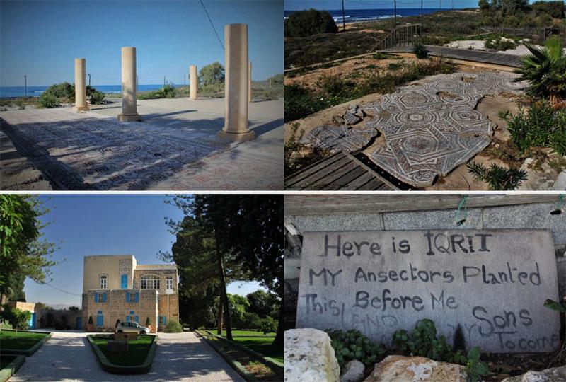 Разрушенный север Израиля — мошав Шавей Цион и арабская деревня Икрит
