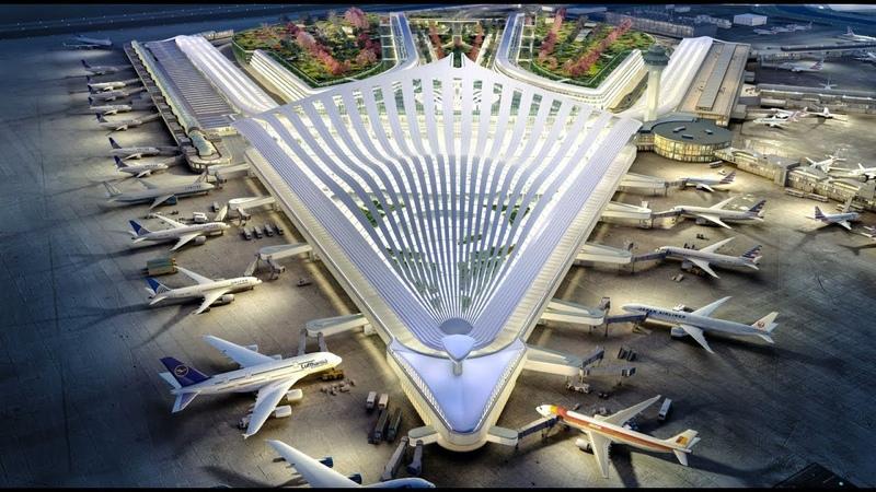 The O'Hare Global Terminal by Santiago Calatrava