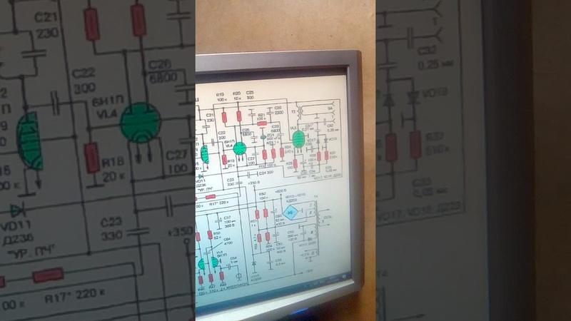 продолжение сборки лампового трансивера 3