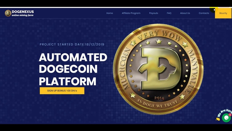 DOGENEXUS BEST PROJECT WHICH ARE PAYED BY INSTANT - 1000 DOGECOIN | PROOF WITHDRAW VIDEO