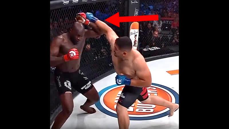 Контр хук MMA UFC Bellator Нокаут