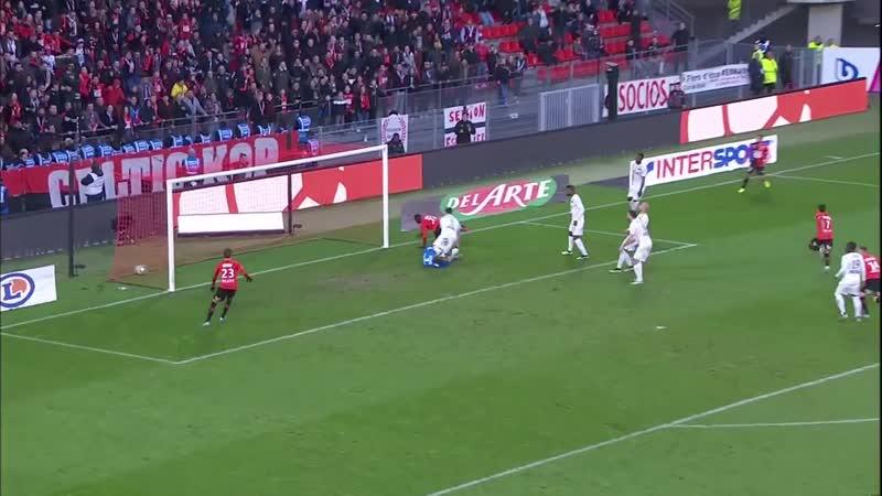 Топ 3 лучших гола Ренна в первом круге по версии Лиги 1 Комформа