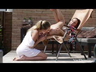 Adira Allure и Lilu Moon - Лесбиянки. (#porn #pussy #shaved #wet #liking #fingering #mature #milf #lesbian)