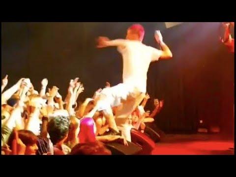"""Lil Peep Legendary - """"U Said Prt 2"""" Live Netherlands 9/22/17 (60fps)"""