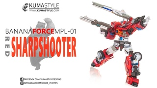 Toy Review: Banana Force MPL-01 Red Sharpshooter (. Optimus Prime)