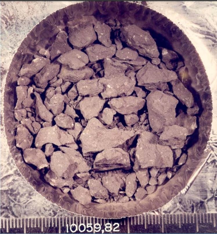 Образцы грунта миссии Аполлон-11