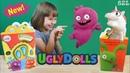 Куклы с характером и волшебный единорог Жора Happy Meal UglyDolls