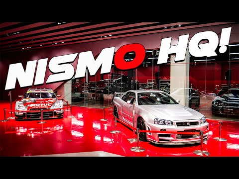 NISMO OMORI FACTORY FULL WALK-THROUGH IN JAPAN!