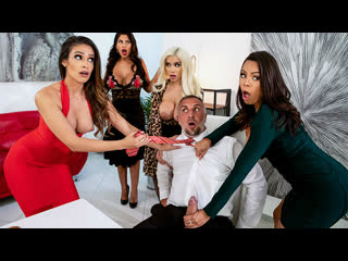 [Brazzers] Bridgette B, Katana Kombat, Luna Star, Victoria June - Office 4-Play Latina Edition NewPorn2019