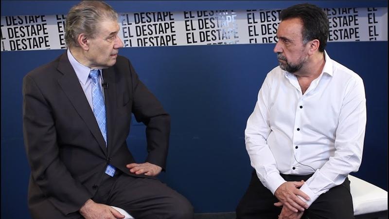 El Destape Víctor Hugo Morales habló sobre su despido en C5N con Roberto Navarro